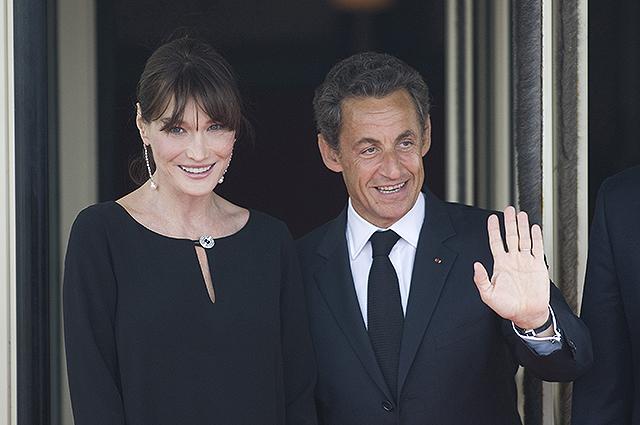 Карла Бруни эмоционально высказалась в поддержку своего мужа Николя Саркози во время расследования
