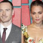 """33561 Майкл Фассбендер поддержал Алисию Викандер на премьере фильма """"Tomb Raider: Лара Крофт"""" в Лондоне"""