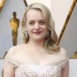 Оскар-2018: Элизабет Мосс на красной дорожке