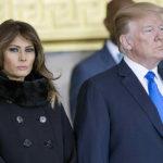 34925 После выхода скандального интервью Сторми Дэниелс Мелания Трамп не появилась на публике вместе с мужем