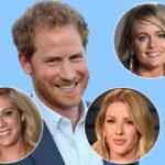 Принц Гарри соберет на свадьбе с Меган Маркл почти всех своих бывших девушек