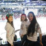 Бесценная поддержка: супруги хоккеистов на матче в Казани