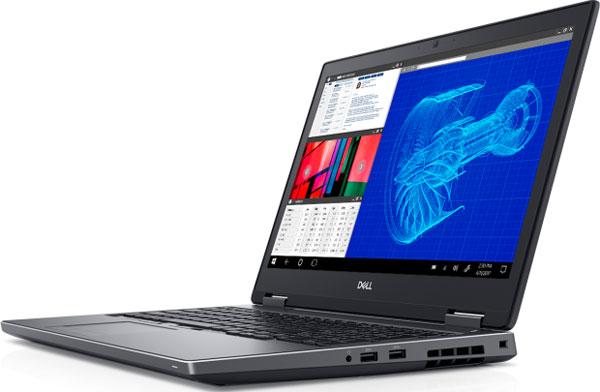 Dell анонсировала мобильные рабочие станции Precision на процессорах Intel восьмого поколения