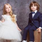 Дети Аллы Пугачевой и Максима Галкина снялись в лукбуке Valentin Yudashkin Kids