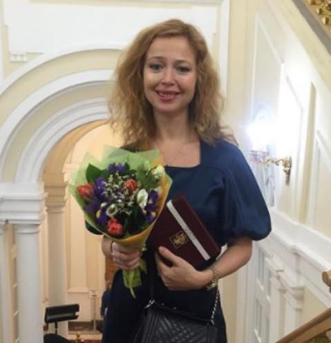 Елена Захарова крестила дочь