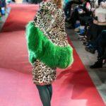 36795 Елена Захарова вышла на подиум в леопарде и мехах