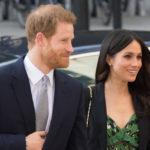 Меган Маркл и принц Гарри посетили прием в Лондоне