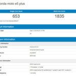 Moto E5 Plus показал удивительно высокую производительность в бенчмарке