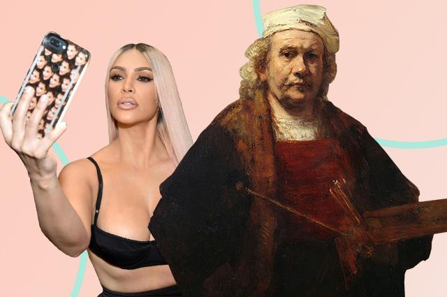 Краткая история селфи: от Рембрандта до Кардашьян