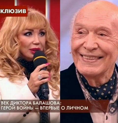 Маша Распутина благодарна за фигуру легендарному диктору Виктору Балашову