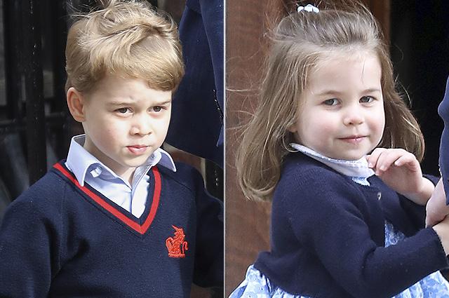 Официально объявлены обязанности принца Джорджа и принцессы Шарлотты на свадьбе Меган Маркл и принца Гарри