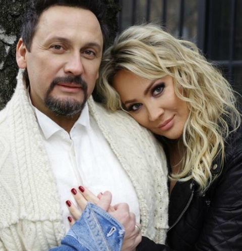 Стас Михайлов трогательно обратился к жене