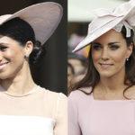 38589 В сети сравнили первый выход Меган Маркл и Кейт Миддлтон на вечеринке в саду Букингемского дворца