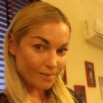 40245 Анастасия Волочкова спасалась бегством от навязчивой фанатки