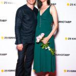 39769 Беременная жена Сергея Безрукова представила новый фильм