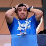 Марадона рассказал о госпитализации после матча Аргентины