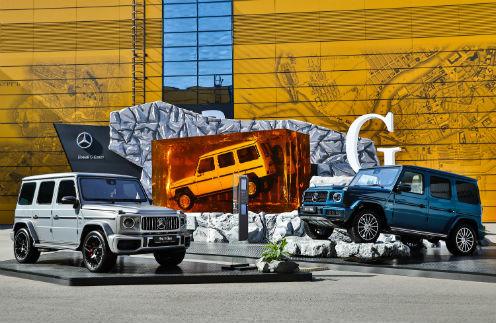 40065 Mercedes-Benz отмечает 10-летие сотрудничества с ПМЭФ