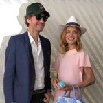 Наталья Водянова в нежно-розовом платье пришла с Антуаном Арно на турнир «Ролан Гаррос»