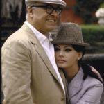 40038 Несколько уникальных снимков из архива: Софи Лорен с мужем на вилле. Восхитительная!