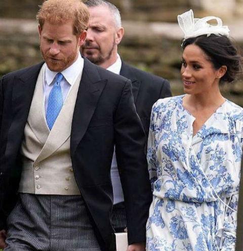 40192 Принц Гарри и Меган Маркл затмили всех на аристократической свадьбе