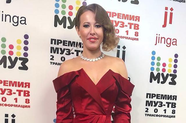 Шесть образов Ксении Собчак на «Премии МУЗ-ТВ 2018»: выбираем лучший