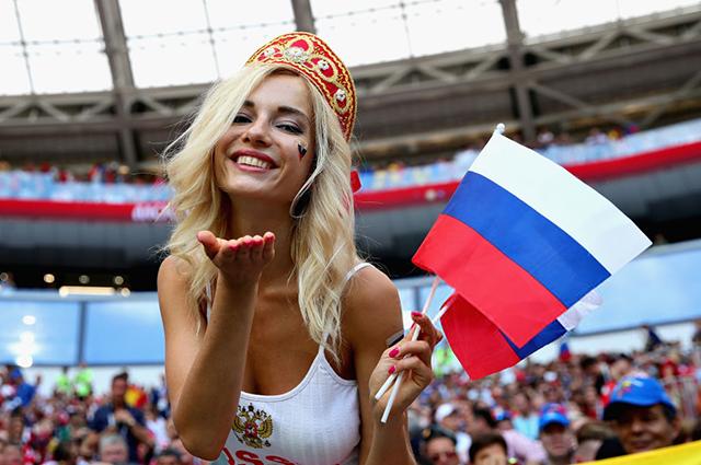 ЧМ-2018: самые яркие и оригинальные снимки российских болельщиков