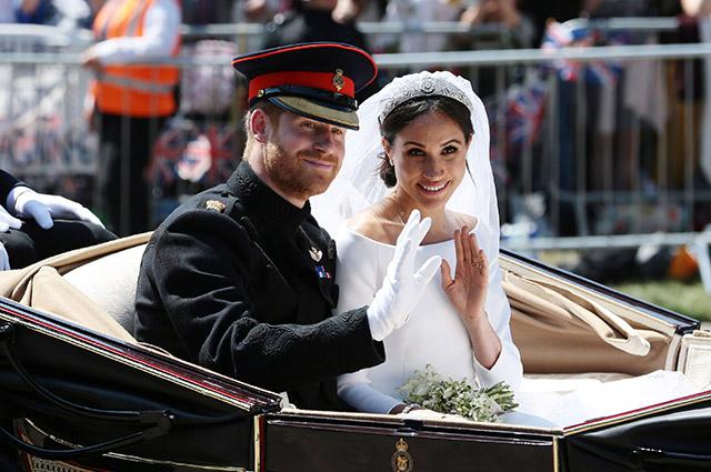 Как Меган Маркл и принц Гарри отблагодарили всех тех, кто поздравил их со свадьбой