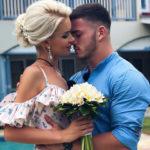 42224 Марина Африкантова и Роман Капаклы сыграли свадьбу на Сейшелах