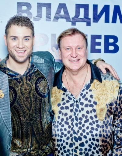 Сергей Пенкин поздравил Владимира Брилева с днем рождения