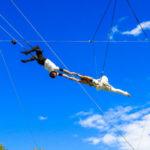В Парке Горького открылась летняя цирковая школа «Трапеция Актуаль»