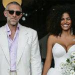51-летний Венсан Кассель женился на 21-летней Тине Кунаки