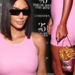Роскошь и фастфуд: Ким Кардашьян в образе латексной Барби из Беверли-Хиллз