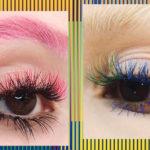 Тренд из Instagram: ресницы всех цветов радуги