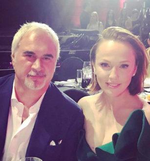 Альбина Джанабаева сопровождает Валерия Меладзе на гастролях
