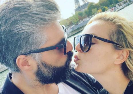 Полина Гагарина и Дмитрий Исхаков отдыхают в Париже: нежные селфи и экскурсия по Лувру