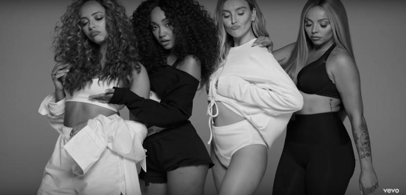 43793 Little Mix ft. Sharaya J — Strip, новый клип