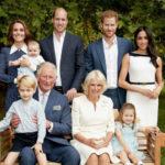 43753 Опубликована новая официальная фотография королевской семьи Великобритании