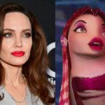 44337 Анджелина Джоли, Тина Кунаки, Уилл Смит и другие звезды, похожие на мультяшных и киногероев