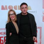 Ксения Собчак проигнорировала Максима Виторгана на премьере в Москве