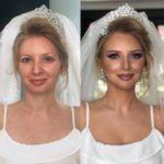 «На свадьбе я её не узнал»: свадебный макияж, который превратил невест в принцесс