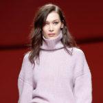 45113 Неделя моды в Милане: Белла Хадид на показе Philosophy di Lorenzo сезона осень-зима 2019/2020