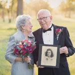 Они ждали свою свадебную фотосессию 70 лет!
