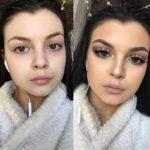 Сила косметики: 15 снимков девушек до и после мейкапа, показывающих на что он способен