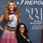 45402 Командная работа: Джулия Робертс, Эмили Блант, Идрис Эльба снялись со стилистами для глянцевого журнала