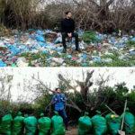 45514 Он вдохновил тысячи людей по всему миру убирать мусор. Давайте поддержим эту инициативу!