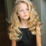 45227 Самые красивые волосы в мире: маленькая Настя поражает своими локонами