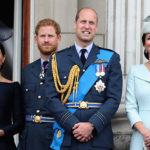 Кейт Миддлтон и принц Уильям впервые навестили принца Гарри и Меган Маркл в их новом доме