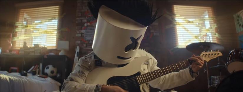 45939 Marshmello — Rooftops, новый клип