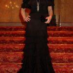 45786 Моника Беллуччи и её коллекция роскошных чёрных нарядов