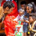 """46064 Сиара и Рассел Уилсон устроили вечеринку в стиле """"Улицы Сезам"""" в честь двухлетия дочери"""